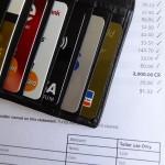 credit cards, bills