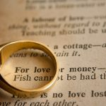 love money and marriage ring