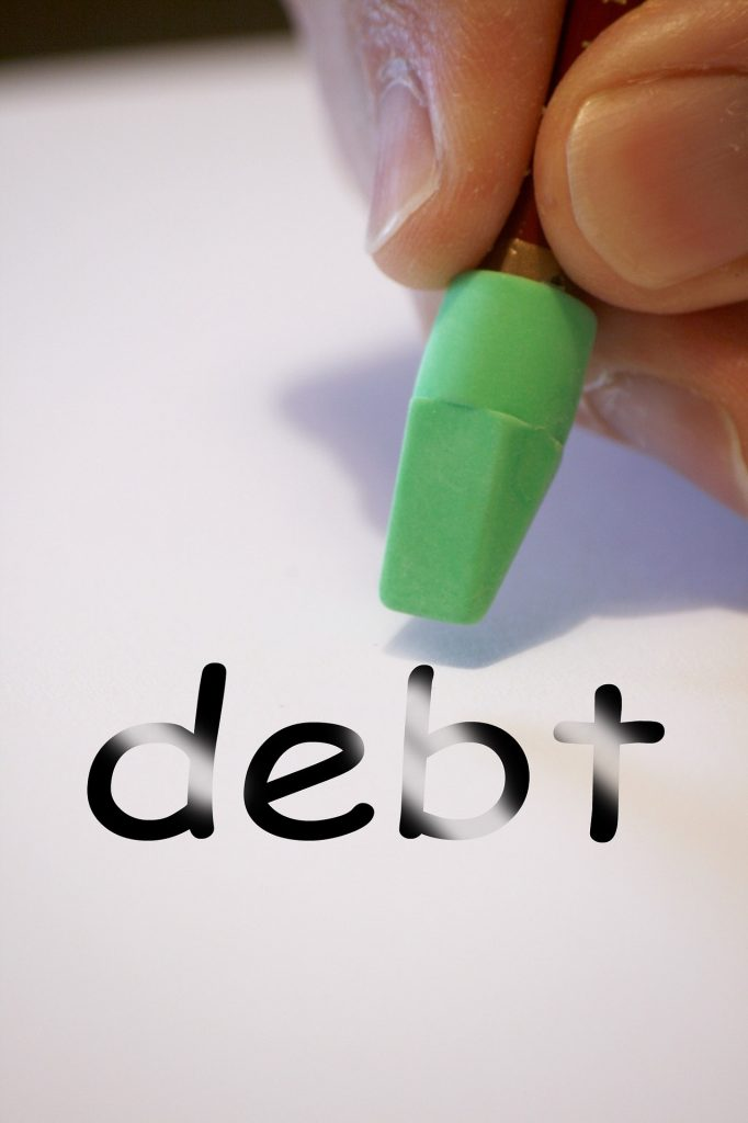 credit report debts